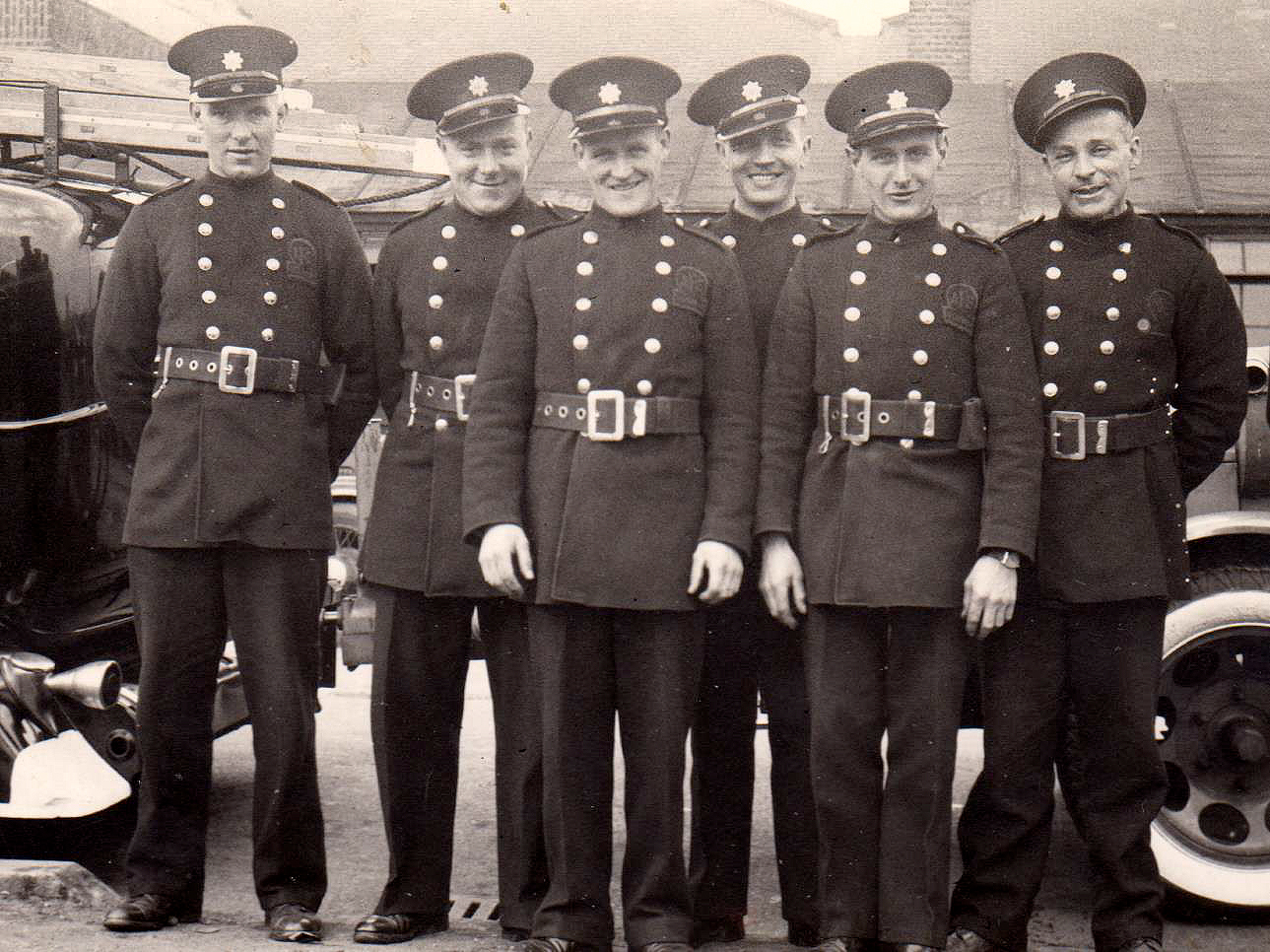 George Hall 2nd left with colleagues from Beckenham AFS