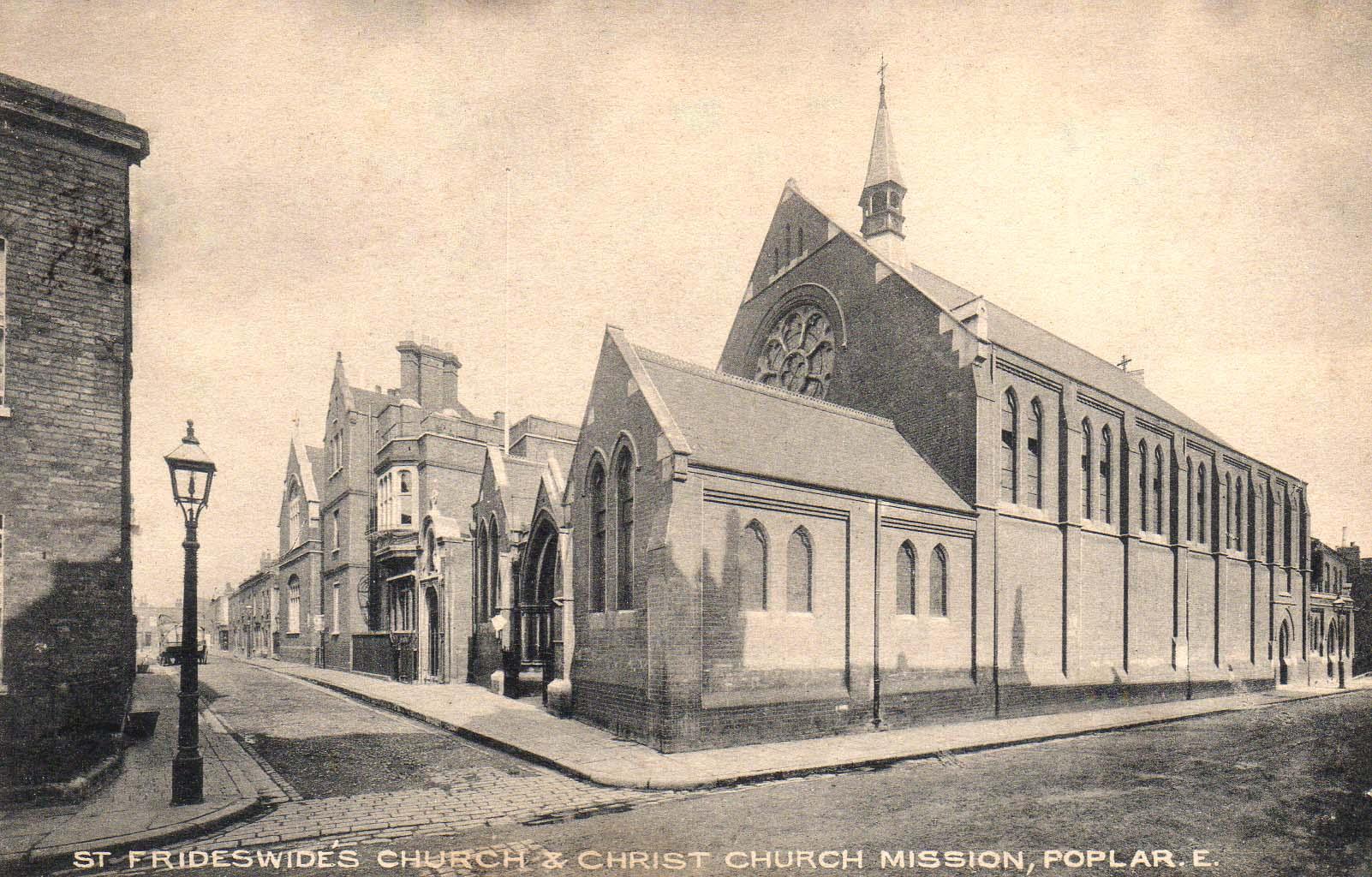 Poplar - St Frideswides Church - pu1912