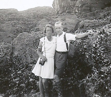 Ron with wife Stella